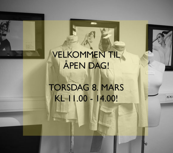 SoFI School of Fashion Industry inviterer til Åpen Dag torsdag 8. mars